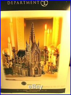Dept 56 Christmas in the CityCathedral of St. Nicholas 5924830th Annvunopened
