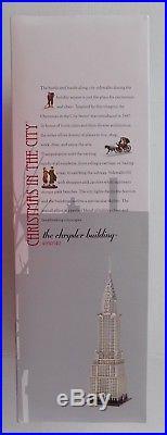 Dept 56 Chrysler Building New York 4030342 Art Deco Christmas in the City