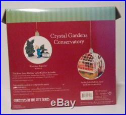 Dept 56 Crystal Gardens Conservatory Christmas in the City