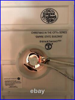 Dept 56 EMPIRE STATE BUILDING 2003