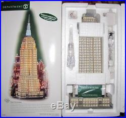 Dept. 56 EMPIRE STATE BUILDING Christmas In The City