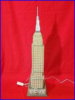 Dept 56, Empire State Building, 2003 Christmas In The City, Very Tall