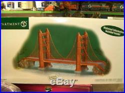 Dept 56 Golden Gate Bridge Landmark Series REITIRED RARE