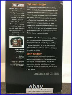 Dept 56 Harley-Davidson City Dealership #56.59202 Christmas in the City NIB