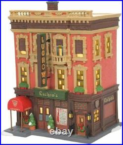 Dept 56 LUCHOW'S GERMAN RESTAURANT Christmas In The City 6007586 IN STOCK 2021