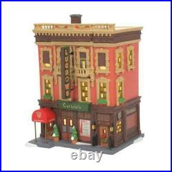 Dept 56 Luchow's German Restaurant Christmas In The City New 2021 6007586 NYC