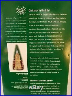 Dept 56 New EMPIRE STATE BUILDING Historical Landmark Series CIC #59207