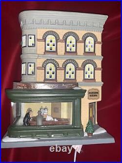 Dept 56 Nighthawks 4050911 Christmas in the City Hopper Village Department w box