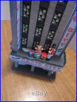 Dept. 56 Radio City Music Hall Christmas In The City 2002 Retired in 2006