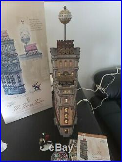 Dept 56 The Times Tower 2000 Special Edition 3 Piece gift set #56.55510