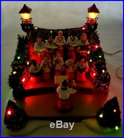 Dept 56 Village Animated Holiday Singers #52505 Mint