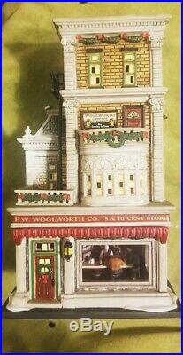 Dept 56 Woolworth's Christmas in the City Series 2005 Matte Finish