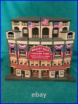 Dept 56 christmas in the city, Chicago Cubs Wrigleyville