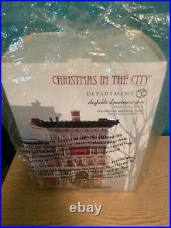 Dept 56 christmas in the city Dayfields Department Store