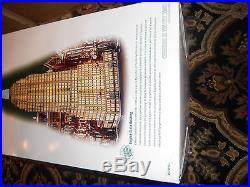 Dept 56 christmas in the city EMPIRE STATE BUILDING RARE RARE RARE BNIB