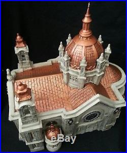 Dept, Department 56 Cathedral of St. Paul Copper Roof NiB