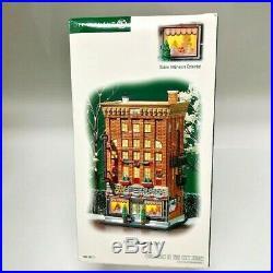 Dept Department 56 Christmas in the City Ferrara Bakery & Cafe #59272 New Rare