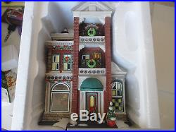 Downtown Radios and Phonographs 59259 NIB Dept 56 Christmas In The City
