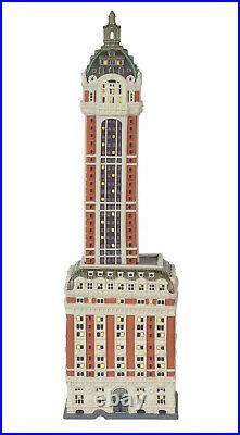 Enesco Department 56 Christmas in the City The Singer Building Item# 6000569 NIB