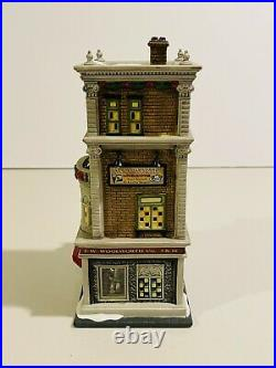 Excellent Condition Department 56 Christmas in The City Woolworths #59249