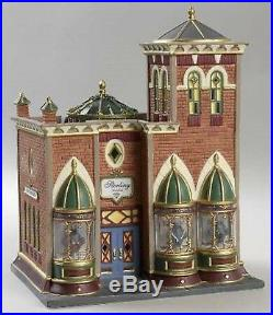 NEW Dept 56 Christmas In The City Sterling Jewelers 56.58926