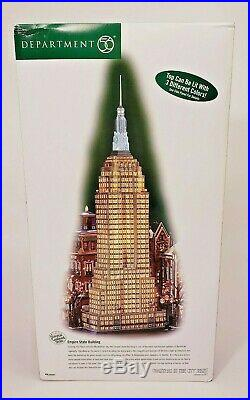 NEW Dept 56 Christmas in the City (CIC) Series EMPIRE STATE BUILDING #59207