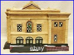 NIB! 2008 Dept 56 Christmas in the City UNION STATON Ltd Ed Low Num #2188/7000