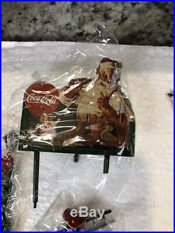 New DEPT 56 CHRISTMAS IN THE CITYCOCA COLA SODA FOUNTAIN Restaurant Santa 59221