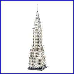 New Department 56 Christmas in The City Village, The Chrysler Building Lit House