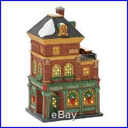 New Department 56 Christmas in the City Village Murphy's Irish Pub Lit House