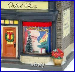 New Retired Dept 56 Oxford Shoes #4030343 Christmas In The City Village
