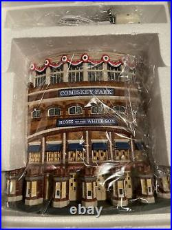 Old Comiskey Park Christmas In The City Dept 56 Chicago White Sox Original Box