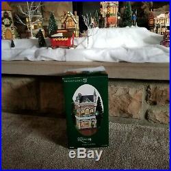 RARE Dept 56 Christmas in the City Marshall Field's Frango Candy Shop NIB 2004