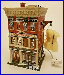 RARE! NEW Dept 56 Christmas in the City Series HAMMERSTEIN PIANO CO. #799941