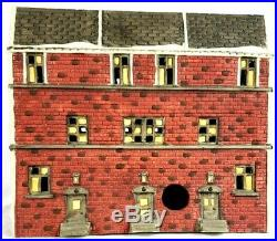 Used Dept 56 Christmas in The City Sutton Place Brownstones Retired 59617 Mint