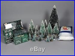 Vintage Dept 56 CHRISTMAS IN THE CITY 19 Buildings, 25 Figure Sets, 19 Trees ++