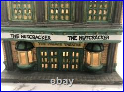 Vtg Dept 56 Christmas In the City Palace Theatre #59633 1987