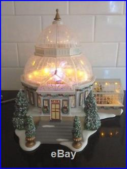 Wonderful Department 56 Christmas in The City Crystal Gardens Conservatory